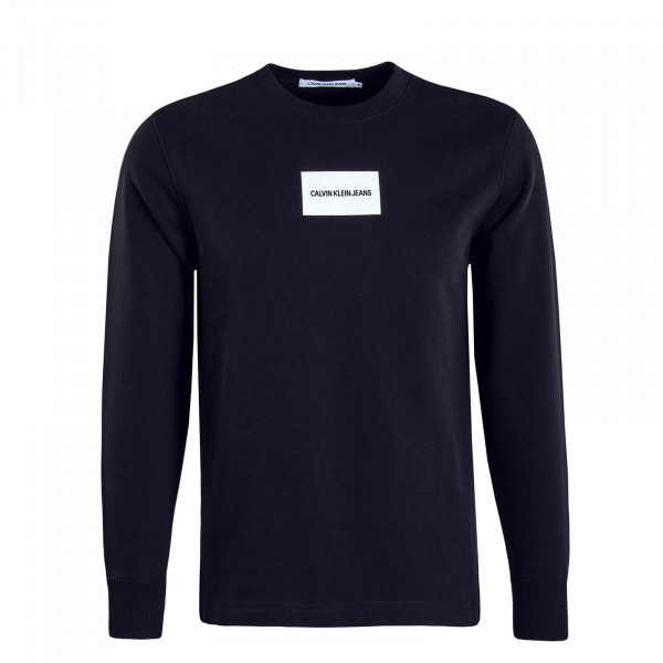 Herren Sweatshirt Small Instit Box Black