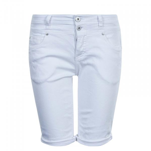 Damen Short T62037Z White