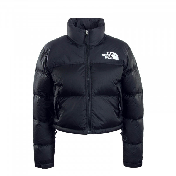 Damen Jacke Crop Nuptse Black