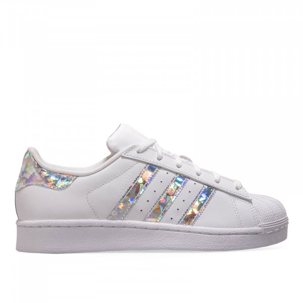 Adidas Wmn Superstar J White Silver