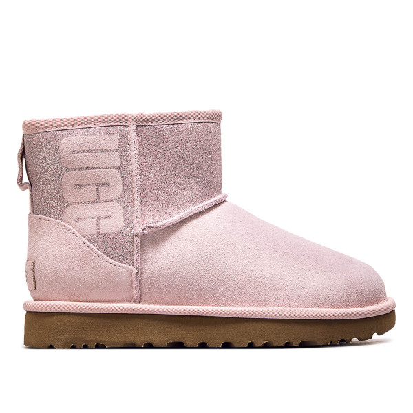 UGG Wmn Classic Mini Sparkle Rose