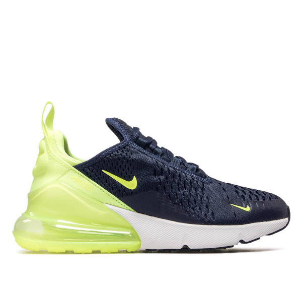 5c8ea0a263d16e Nike Wmn Air Max 270 Navy Neo Yellow