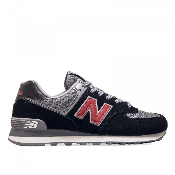 New Balance ML574 ESU Black Grey Bordo