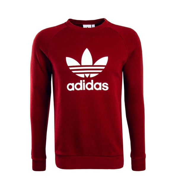Adidas Sweat Trefoil Bordo White
