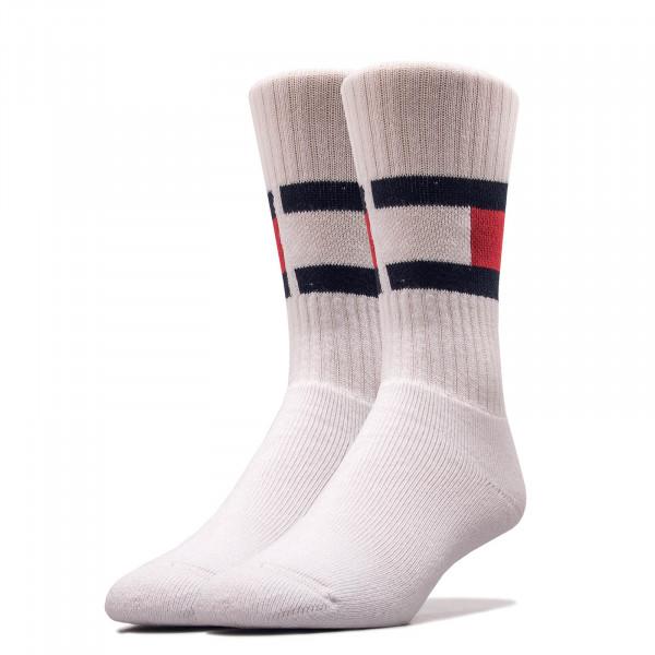Socken Flag White