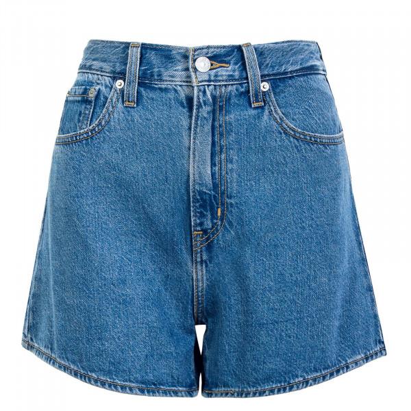 Damen Short - High Loose Number One - medium blue