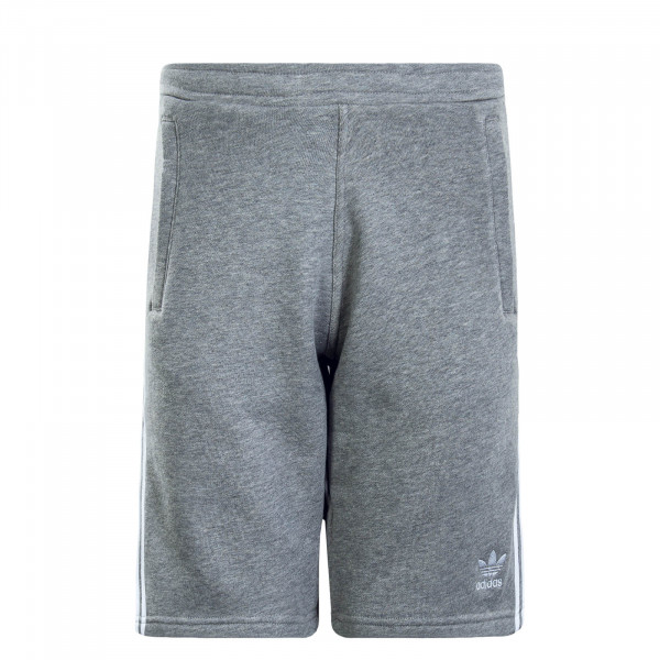 Herren Short 3 Stripe Grey White