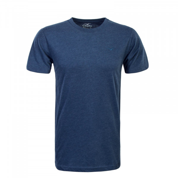 Herren T-Shirt Ligull Regular Heather Blue