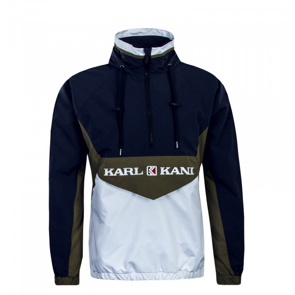 Herren Windrunner Retro Block NavyWhtGree