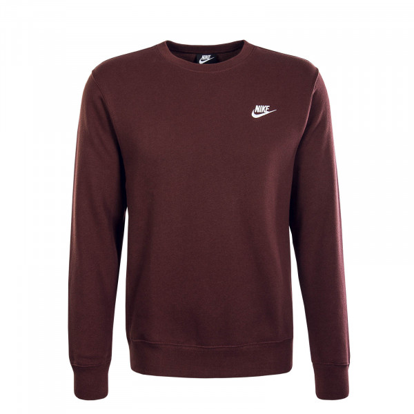 Herren Sweatshirt Club NSW Bordeaux White