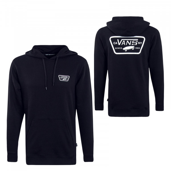 Herren Hoody  Full Patch Po 2 Black White