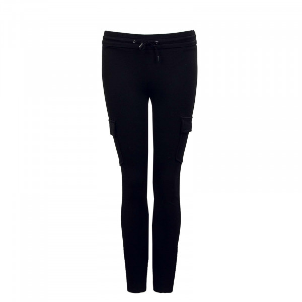 Damen Leggings - Zabo Cargo String - Black