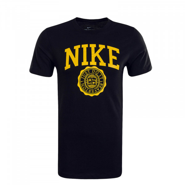Herren T-Shirt Athletic Black Yellow