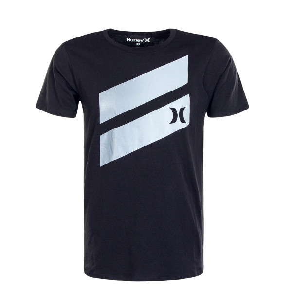 Herren T-Shirt Icon Slash Gradient SS Black