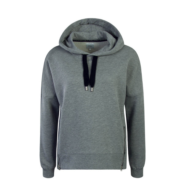 Only Hoody Ashley Grey