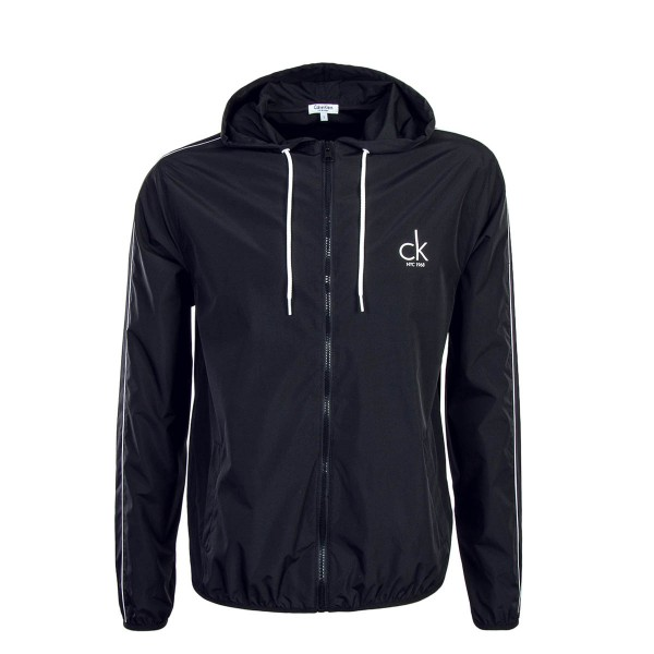 CK Windbreaker Beach Black White