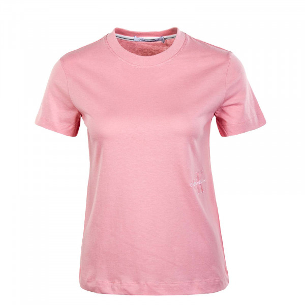 Damen T-Shirt - Off Placed Monogram 6469 - Soft Berry