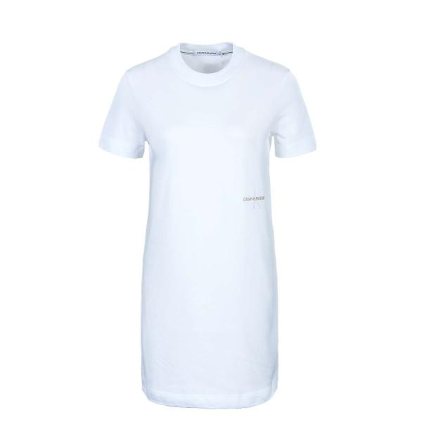 Damen Kleid - Offplaced Dress Monogram Bright - White