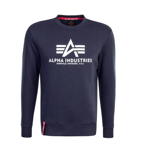Alpha Sweat Basic Navy White