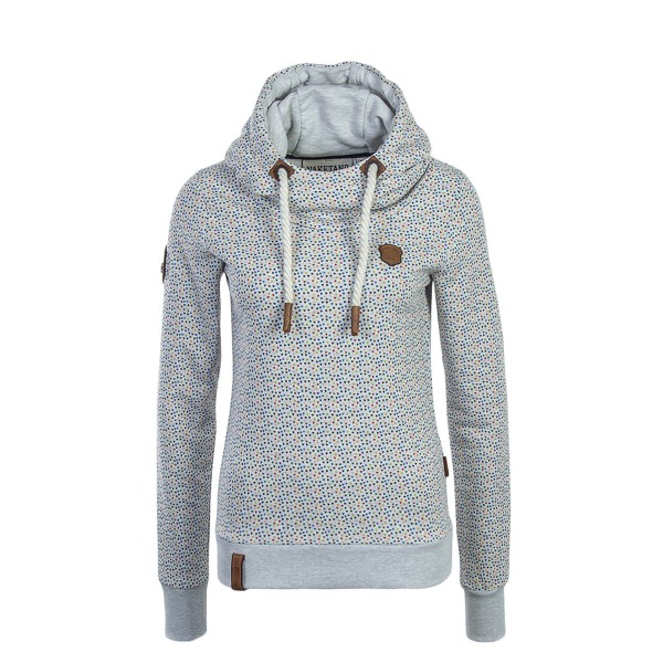 Naketano Wmn Hoody Pavian Crazy Love Grey