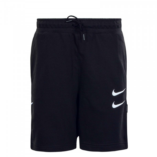 Herren Short NSW Swoosh FT Black White