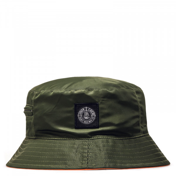 Bucket Hat Patch DMWU Olive Orange