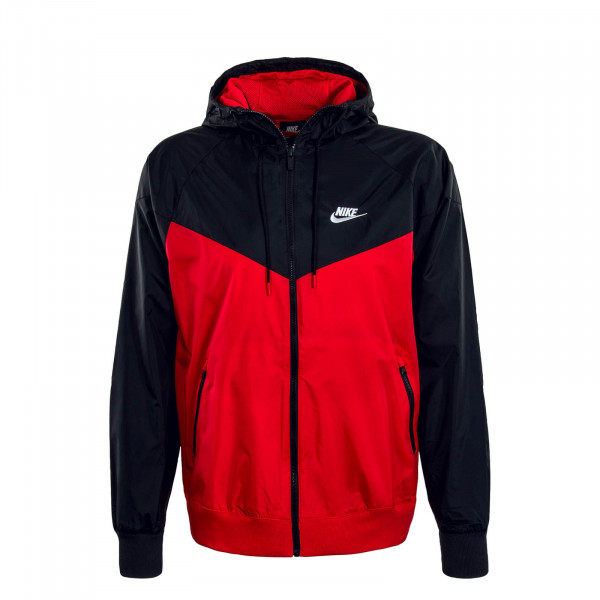 Herren Jacke NSW He WR Red Black White