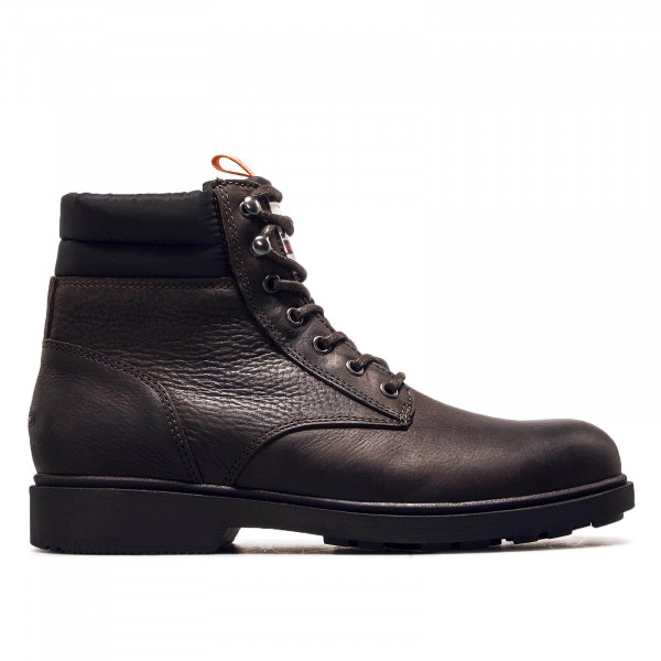 Herren Boot Casual Leather Coffee Bean