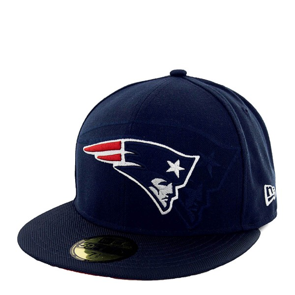 Cap 59Fifty Sideline New England Partiots Navy