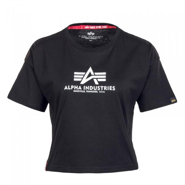 Damen T-Shirt - Basic COS - Black