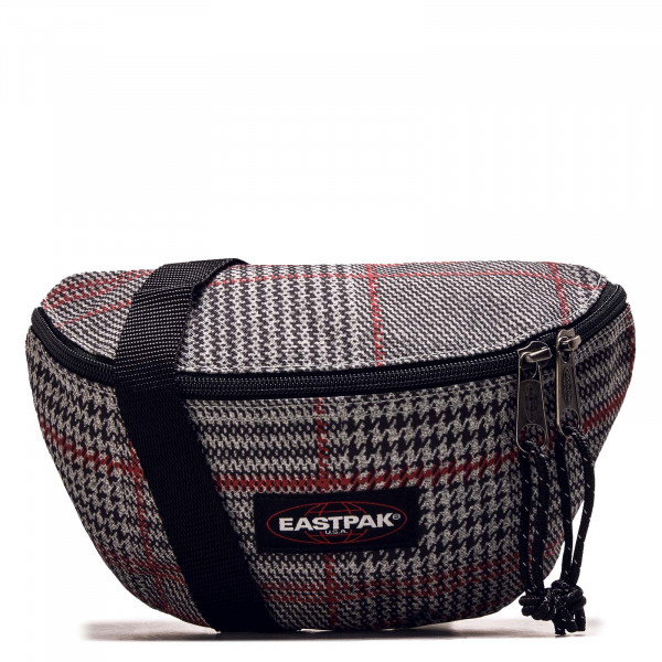 Bauchtasche Springer Check Grey Red