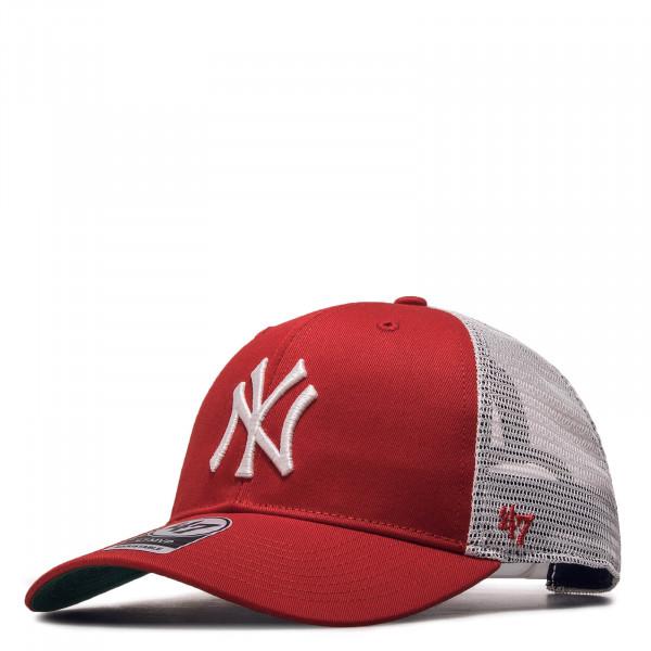 Cap Trucker NY Red White
