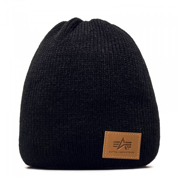 Beanie Knit Black