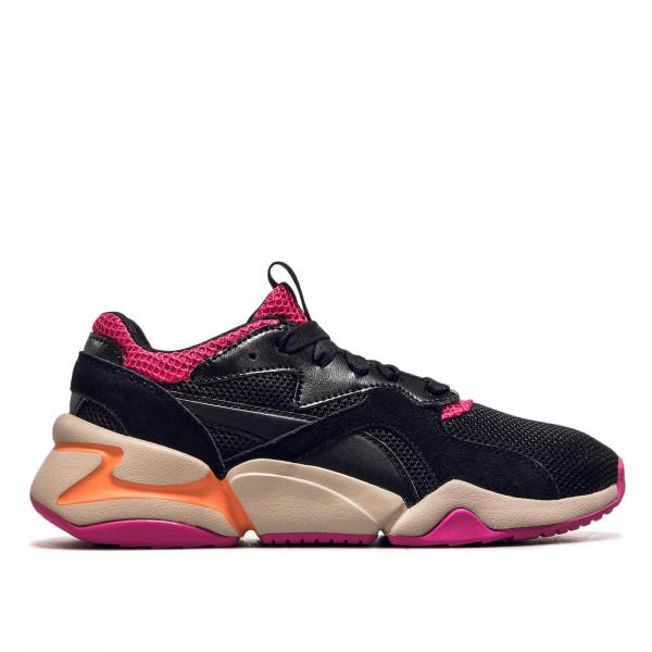 Damen Sneaker Nova Urban 90 Black Fuchsia