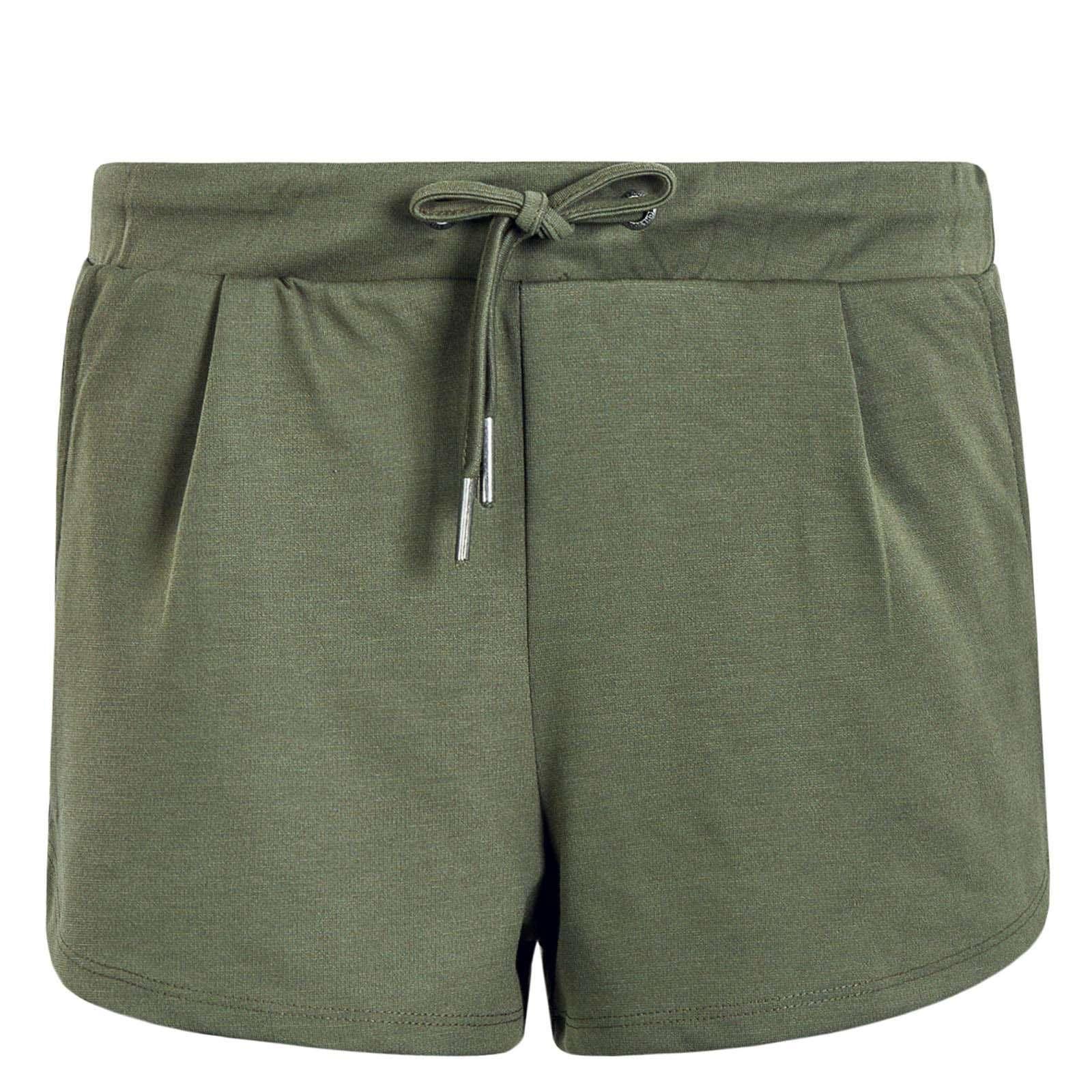 927ce3443b25a8 olivfarbene Damen Short von Stitch & Soul online kaufen | BodycheckShort |  Hosen | Bekleidung | Frauen | Bodycheck