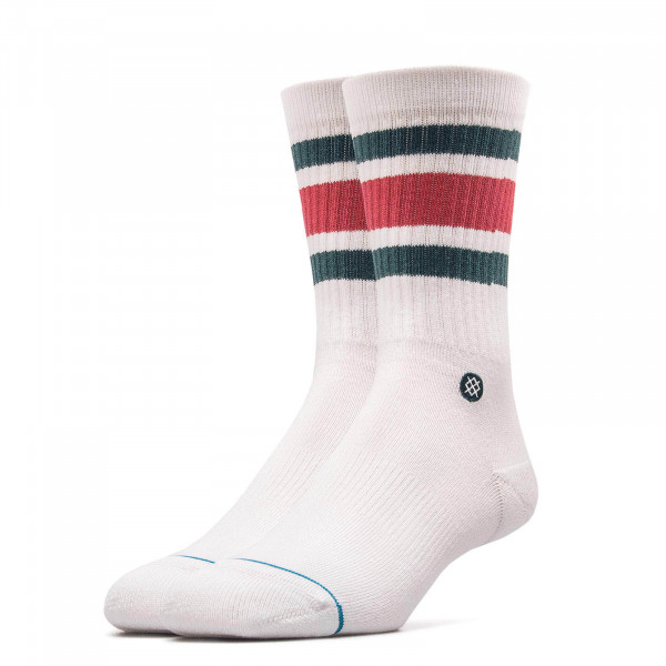 Stance Socks Boyd 4 White Red Green