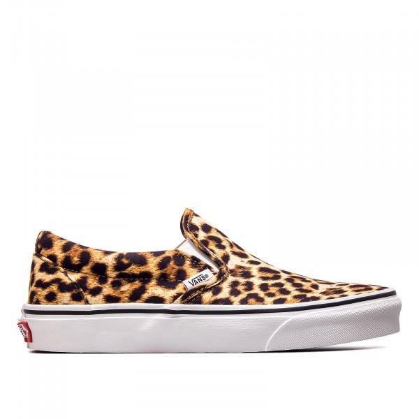 Damen Sneaker Classic Slip-On Leopard Black True White