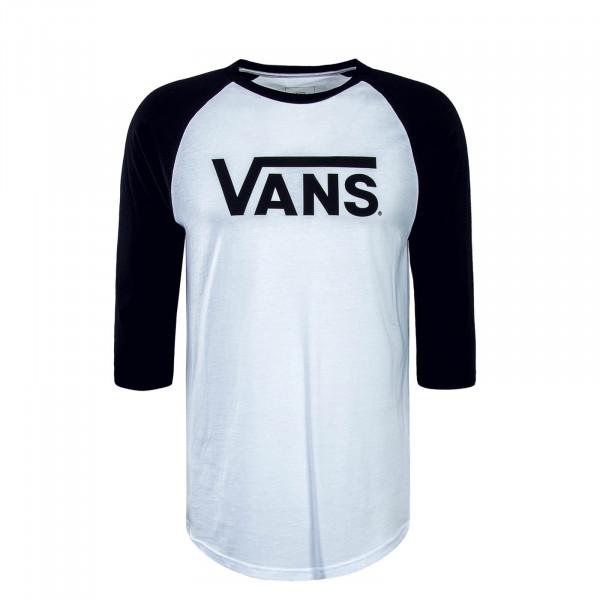Vans LS Classic Ragla White Black