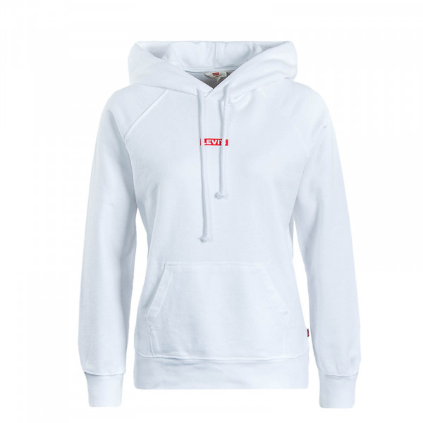 Damen Hoody Graphic Sport Baby White