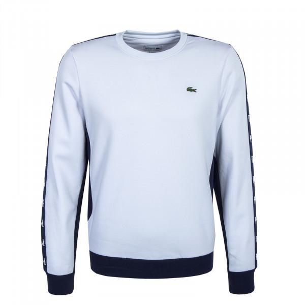 Herren Sweat - White / Navy Blue