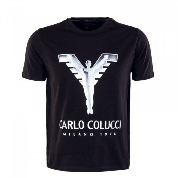 Herren T-Shirt - Black / Silver