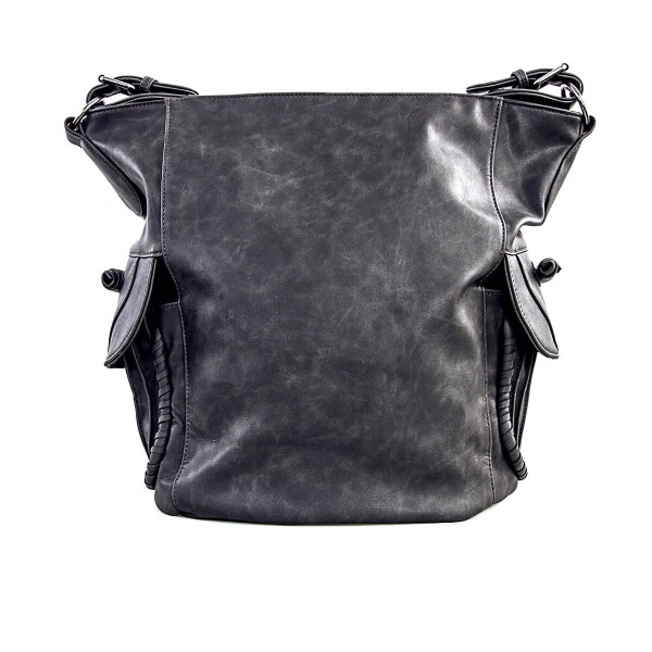 Fritzi Bag Bea Nubuk Black Grey