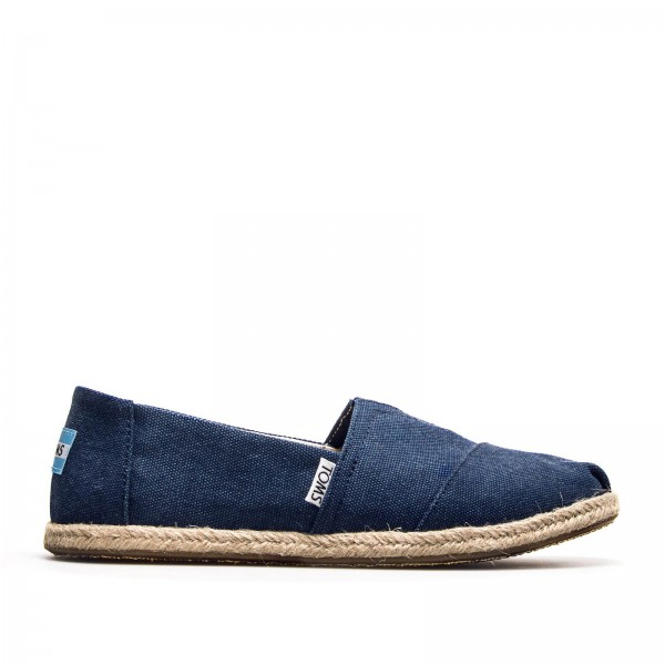 Toms Wmn Classic Navy Washed