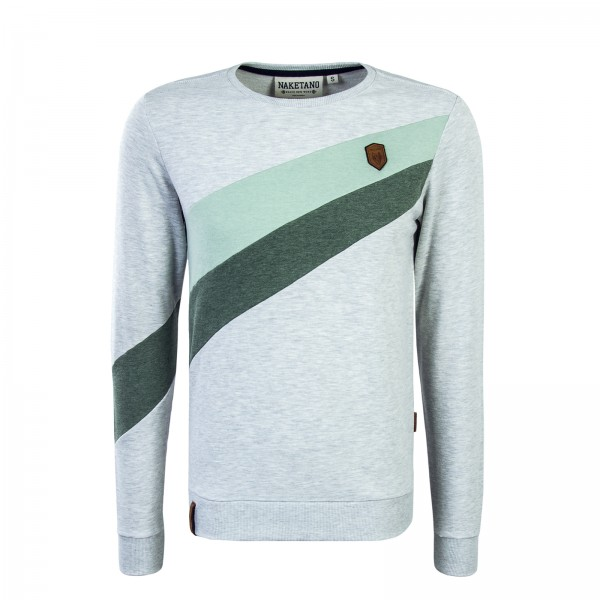 Naketano Sweat Verdammte Order Grey Green