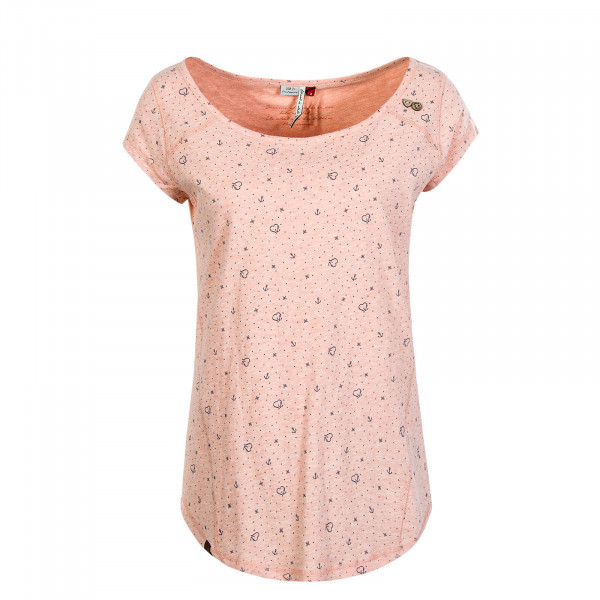 Damen T-Shirt Rosanna Peach
