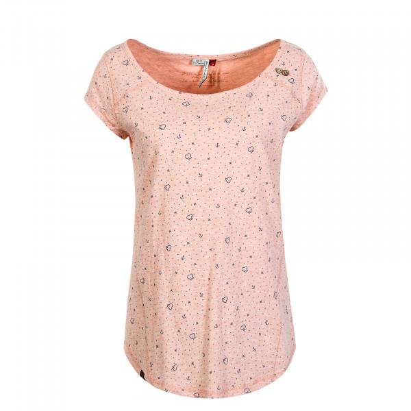 Damen T-Shirt Rosanna Peach