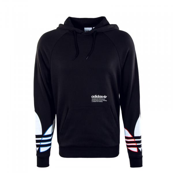 Herren Hoody - Tricolor - Black