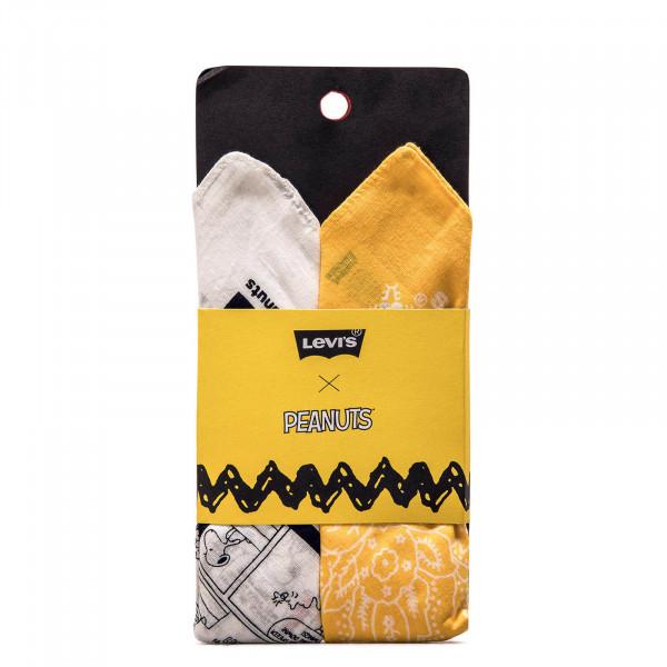 Bandana Peanuts Squad Yellow White