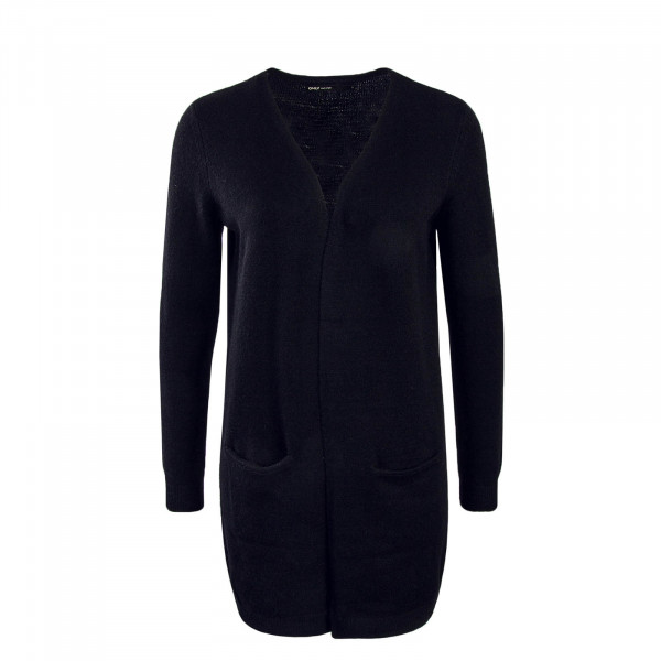 Damen Cardigan Long Queen Black