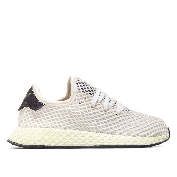 Adidas U  Deerupt Runner White Black Neo